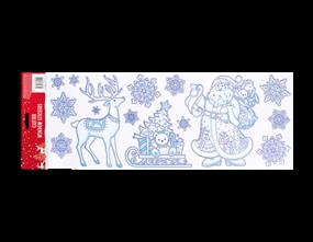 Wholesale Christmas Glitter Window Stickers | Gem Imports Ltd