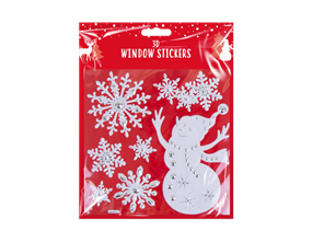 Wholesale 3D Christmas Window Stickers | Gem Imports Ltd