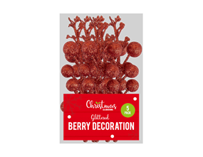 Wholesale Glitter Berry Decorations | Gem Imports Ltd