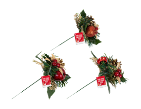 Wholesale Christmas Pine Cone & Fruit Pick | Gem Imports Ltd