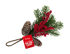 Wholesale Christmas Pine Cone & Berry Decorations | Gem Imports Ltd