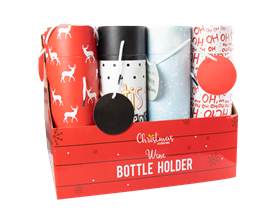 Wholesale Christmas Bottle Holders | Gem Imports Ltd