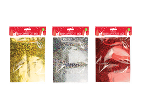 Wholesale Holographic Medium Christmas Gift Bags | Gem Imports Ltd