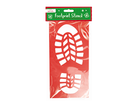 Wholesale Christmas Footprint Stencils   Gem Imports Ltd