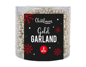 Wholesale Gold Bead Christmas Garlands | Gem Imports Ltd