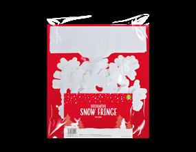 Wholesale Glittered Snow Fringes | Gem Imports Ltd