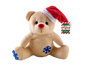 Wholesale Christmas Plush Bear Decorations | Gem Imports Ltd