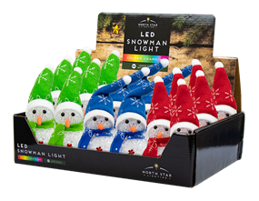 Wholesale Colour Changing Snowmen | Gem Imports Ltd