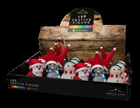 Wholesale Colour Changing LED Christmas Characters | Gem Imports Ltd