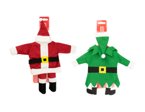 Wholesale Christmas Novelty Wine Bottle Covers | Gem Imports Ltd