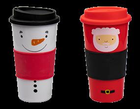 Wholesale Christmas Travel Cups   Gem Imports Ltd