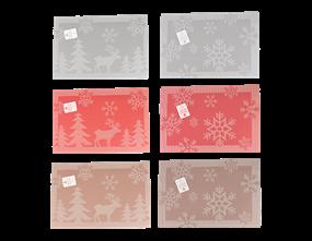 Wholesale Christmas Jacquard Placemats | Gem Imports Ltd
