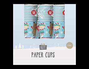 Wholesale Christmas Paper Cups | Gem Import Ltd