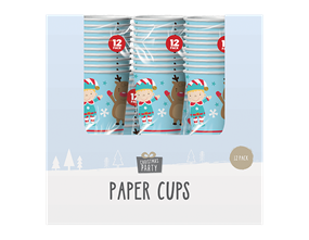 Wholesale Christmas Paper Cups | Gem Import Ltd