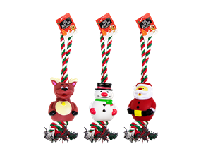 Wholesale Christmas Rope Dog Toys | Gem Imports Ltd