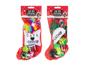 Wholesale Cat Toy Stockings | Gem Imports Ltd