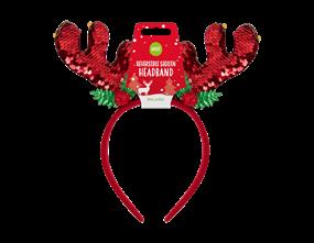 Wholesale Reversible Sequin Antlers | Gem Imports Ltd