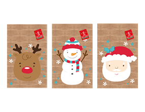 Wholesale Christmas Jute Gift Sacks | Gem Imports Ltd