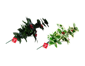 Wholesale Decorative Christmas Holly Spray | Gem Imports Ltd