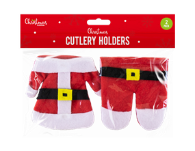 Wholesale Christmas Cutlery Holders | Gem Imports Ltd
