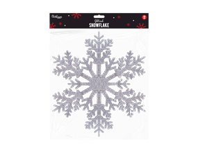 Wholesale Christmas Glittered Snowflakes | Gem Imports Ltd