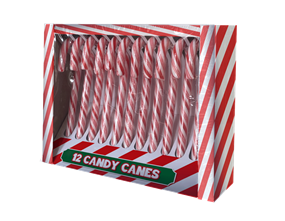 Wholesale Candy Canes Mint Flavour | Gem Imports Ltd