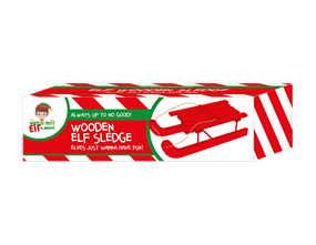 Wholesale Elf Wooden Sledges | Gem Imports Ltd