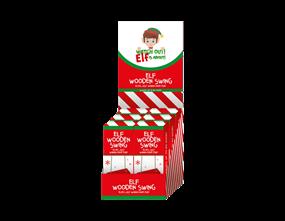 Wholesale Elf Wooden Swing | Gem Imports Ltd