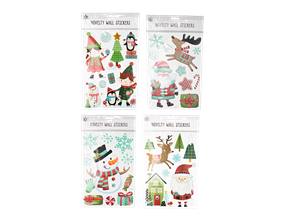 Wholesale Christmas Novelty Wall Stickers | Gem Imports Ltd