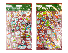 Wholesale Christmas Novelty Stickers | Gem Imports Ltd
