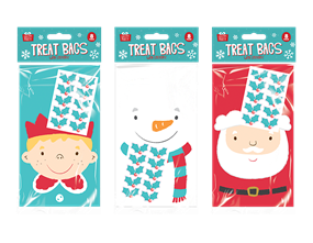 Wholesale Christmas Treat Bags | Gem Imports Ltd