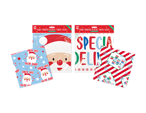Wholesale Giant Printed Plastic Santa Sacks | Gem Imports Ltd