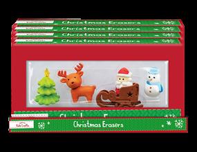 Wholesale Christmas Novelty Eraser Sets | Gem Imports Ltd