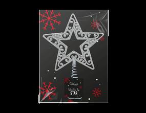 Wholesale Silver Tree Top Stars | Gem Imports Ltd