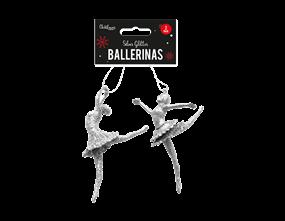 Wholesale Silver Glitter Ballerina | Gem Imports Ltd