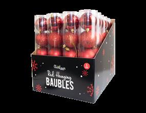 Wholesale Red Baubles | Gem Imports Ltd