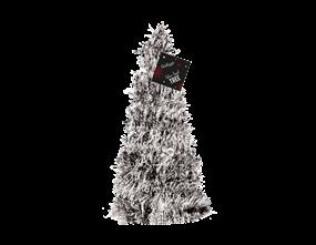 Wholesale Silver Tinsel Christmas Tree | Gem Imports Ltd