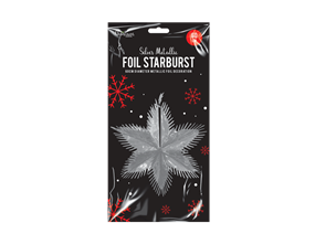 Wholesale Silver Foil Starbursts | Gem Imports Ltd
