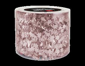 Wholesale Rose Gold Star Christmas Tinsel Garlands | Gem Imports Ltd