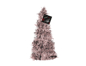 Wholesale Rose Gold Tinsel Trees | Gem Imports Ltd
