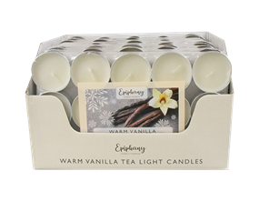 Wholesale Creamy Vanilla Tealight Candles | Gem Imports Ltd