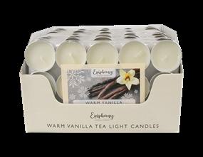 Wholesale Creamy Vanilla Tealight Candles   Gem Imports Ltd