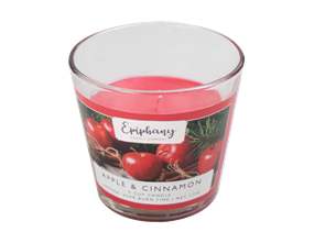 Wholesale Apple & Cinnamon V Cup Candle | Gem Imports Ltd