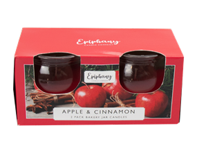 Wholesale Apple & Cinnamon Bakery Jar Candles | Gem Imports Ltd