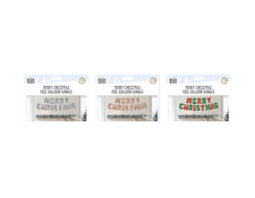 Wholesale Merry Christmas Foil Balloon Banners | Gem Imports Ltd