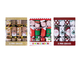 Wholesale Mini Christmas Crackers | Gem Imports Ltd