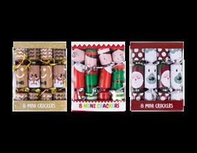 Wholesale Mini Christmas Crackers | Gem Imports Ltd