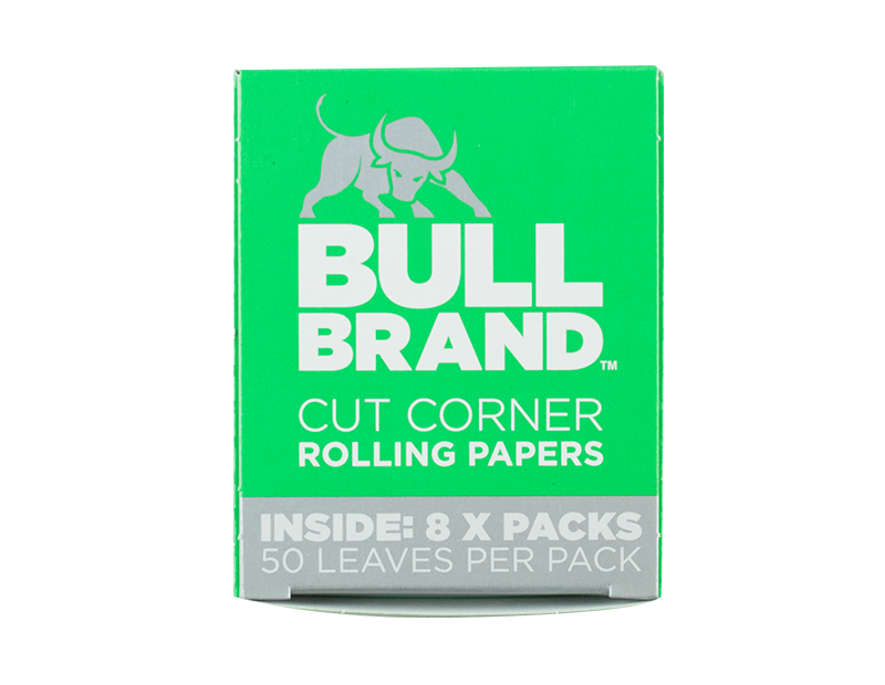Bull Brand Rolling Papers - 8 Pack