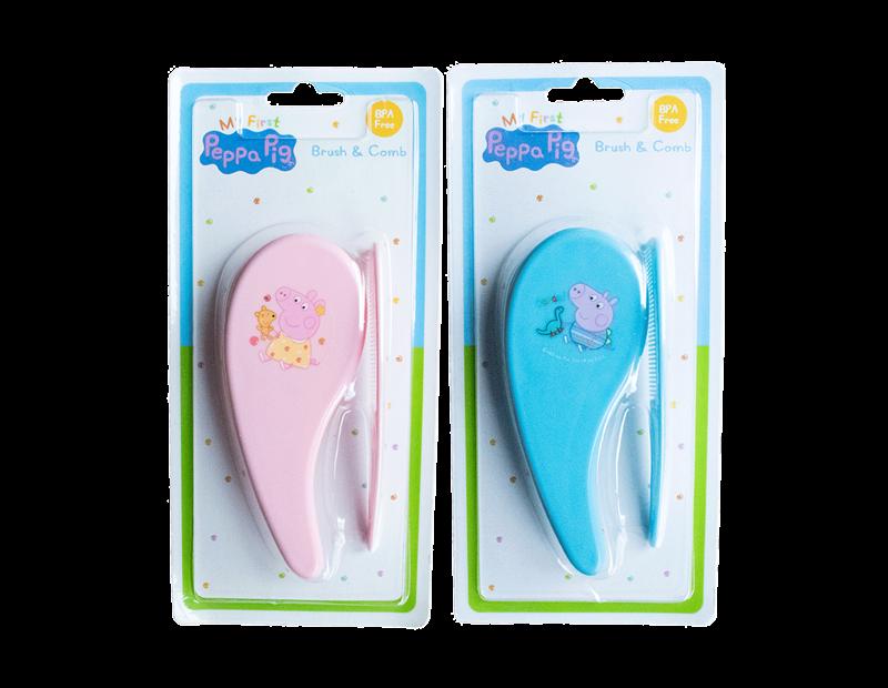 Peppa Pig Brush & Comb Set