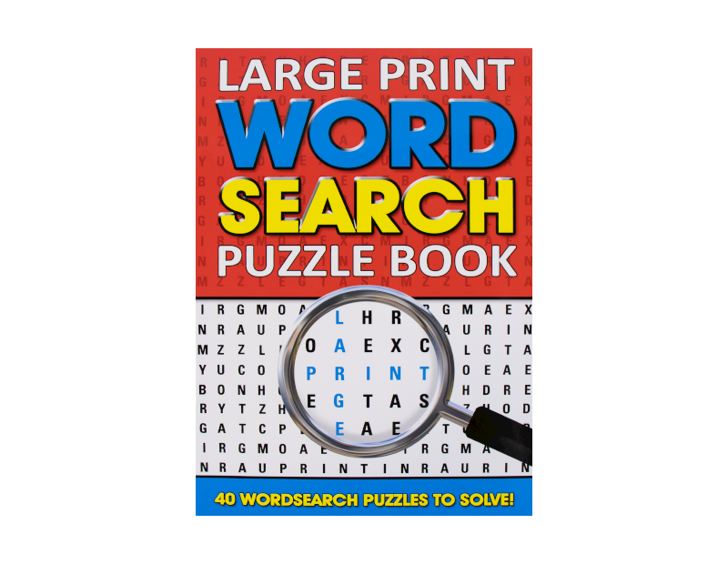 Wholesale Large Print Word Search Puzzle Books Gem Imports Ltd